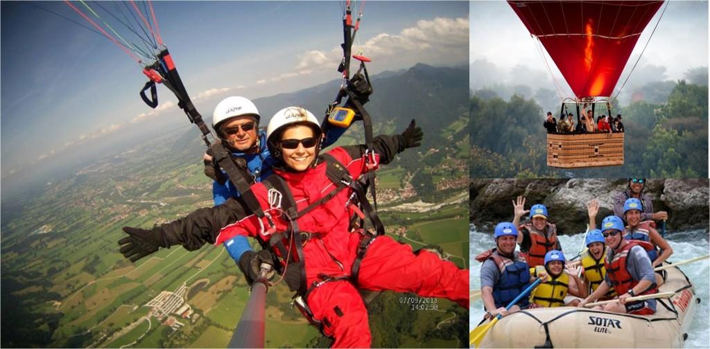 Destination Wedding in summer: Adventure sports
