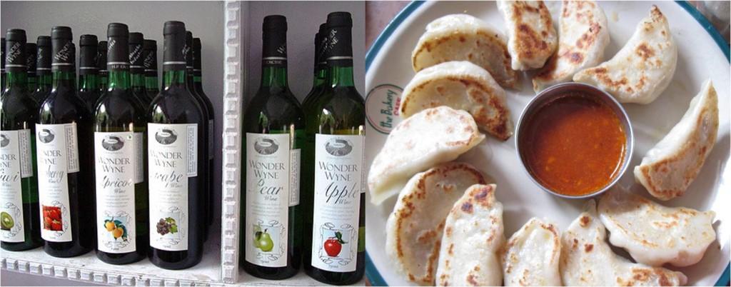 Destination wedding in summer: local food & wine