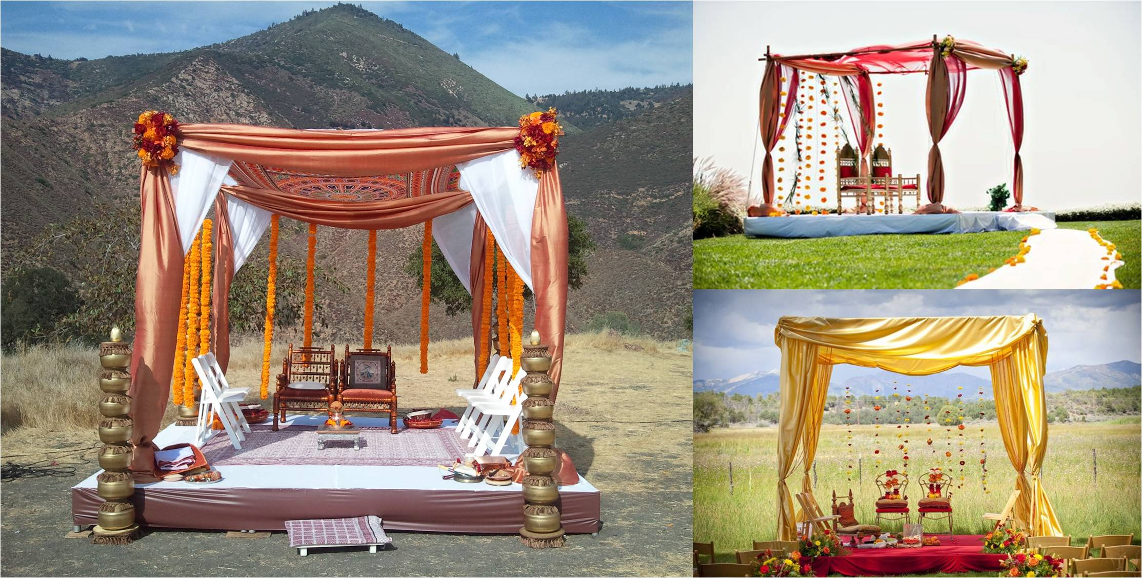 Cost of Budget Wedding in Shimla: Budget wedding decor samples.