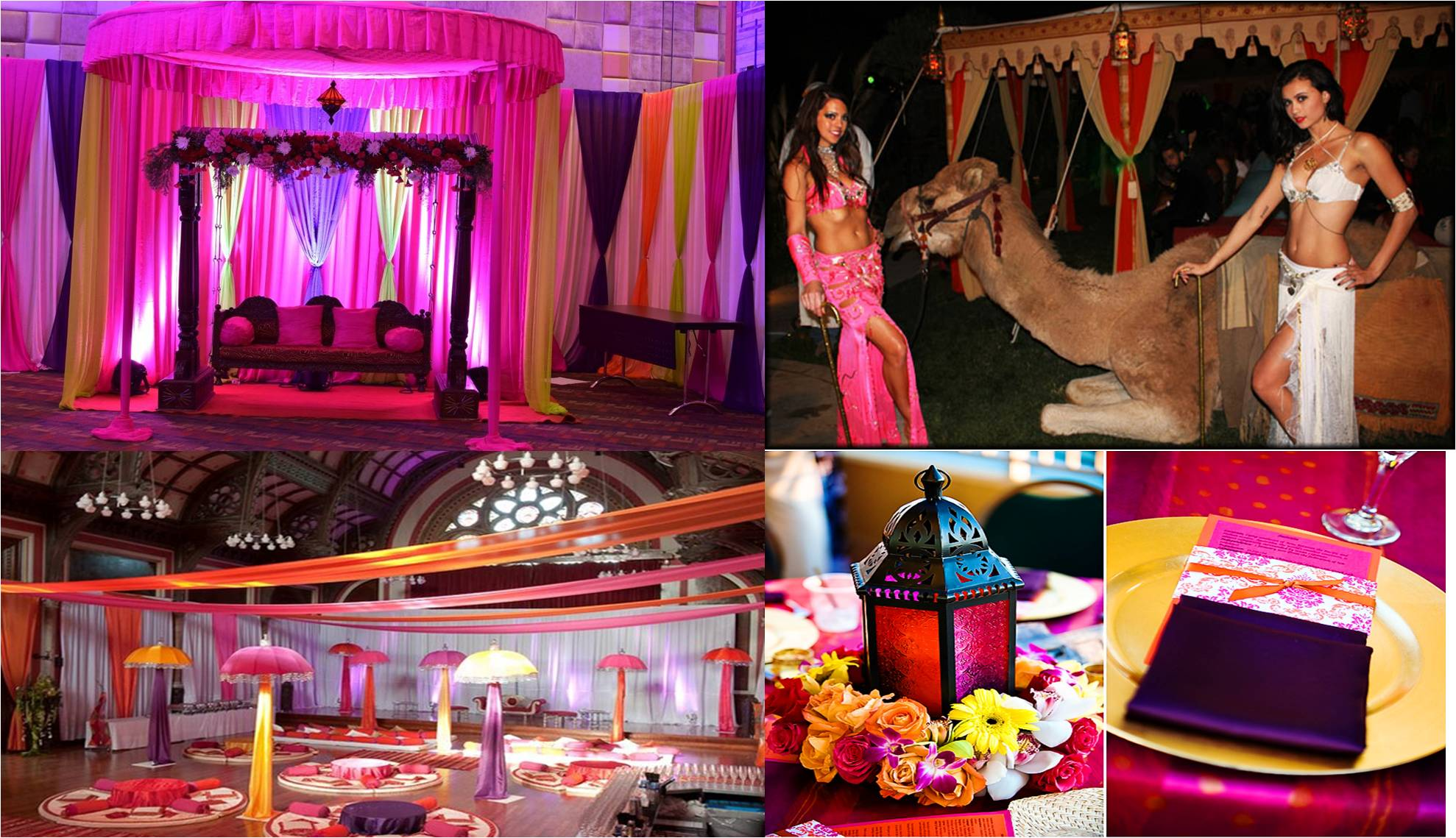Wedding decor theme theme wedding planner new delhi the rajasthanimoroccan wedding decor theme fusion junglespirit Images