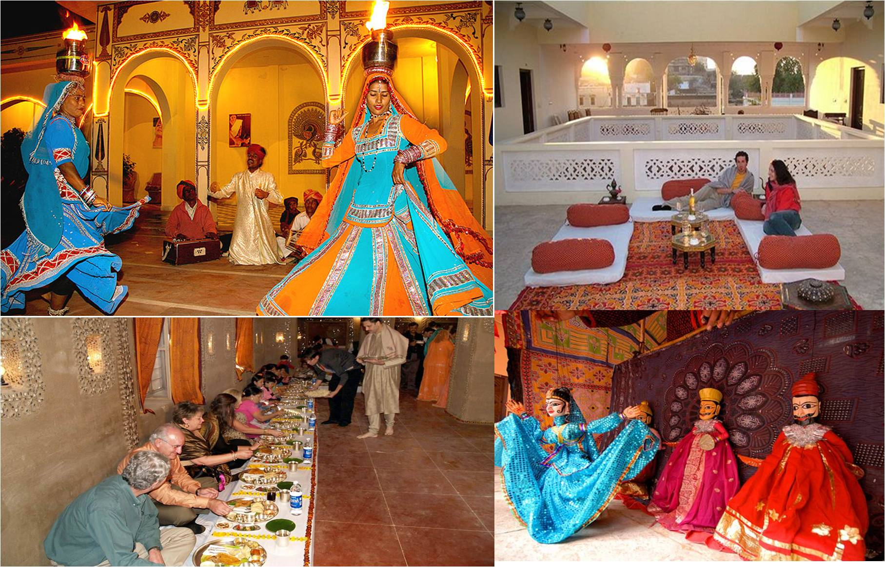 Royal-offbeat Destination Wedding Venues: Entertainment & Food