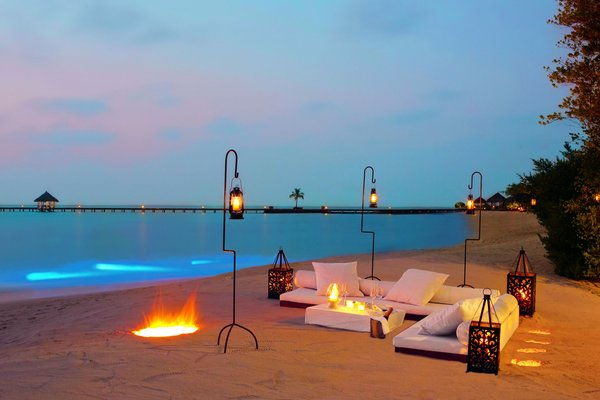 Island-Beach-Wedding: Beach setting in Lakshadweep island