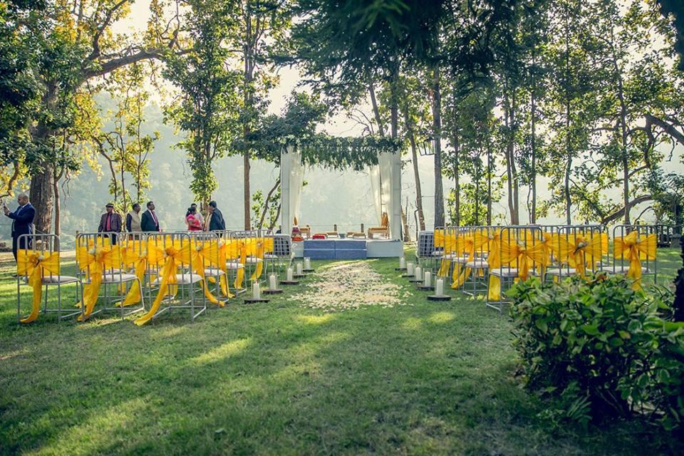 destination wedding in jim corbett