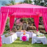 Mehendi: Canopy, seating, props