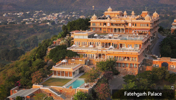 Destination wedding in Udaipur: Fatehgarh Palace