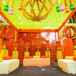 Mehendi: Seating, cushions, props
