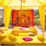 Mehendi: Canopies, cushions, seating, props