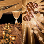 Reception: Fiery light lighting
