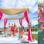 Wedding: Mandap, floral aisle, seating