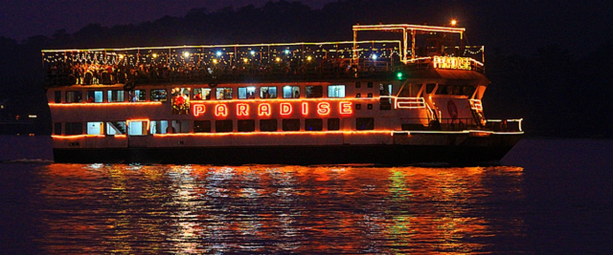 Goa Wedding: Cruise Setting.