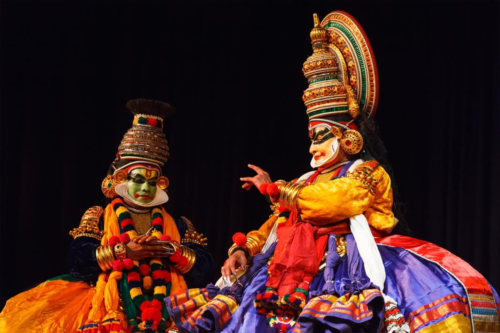 Wedding in Kerala - Kathakali Dance