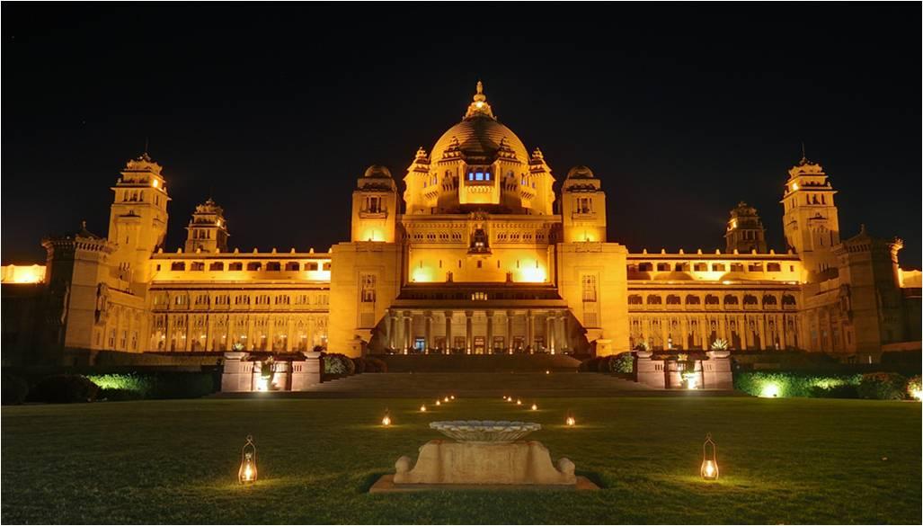 Wedding in Jodhpur: Heritage Property: umaid bhawan palace