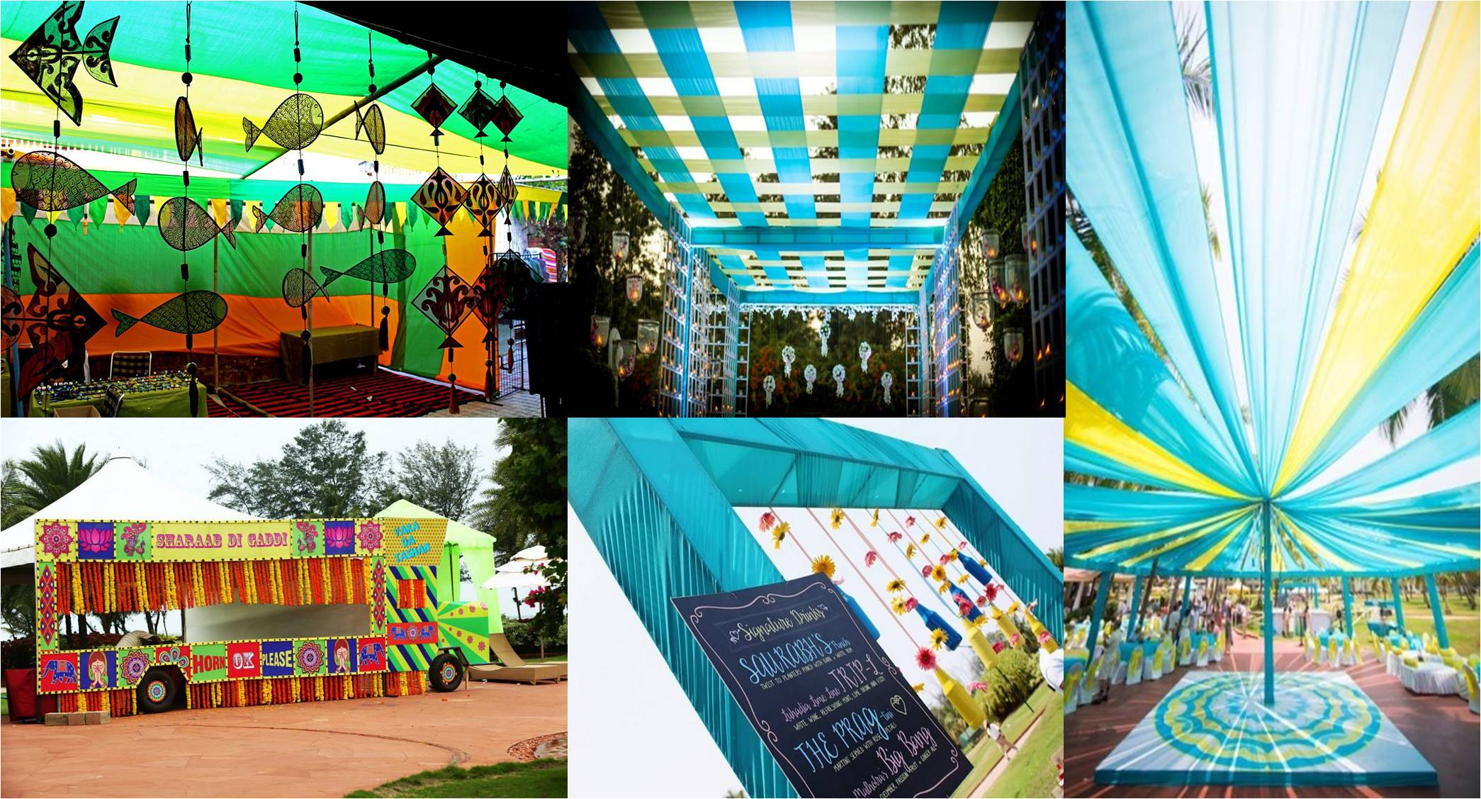 Goa Wedding: Kitsch Theme