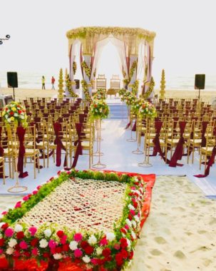goa beach wedding cost