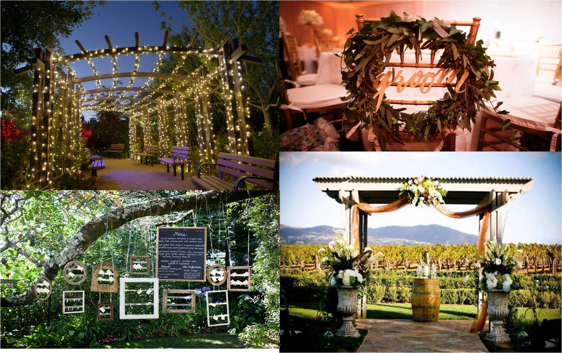 vineyard wedding decoration ideas wedding decor theme theme wedding planner new delhi 8271